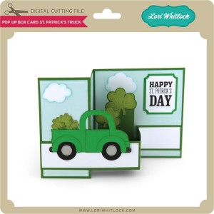 LW-Pop-Up-Box-Card-St-Patrick's-Truck