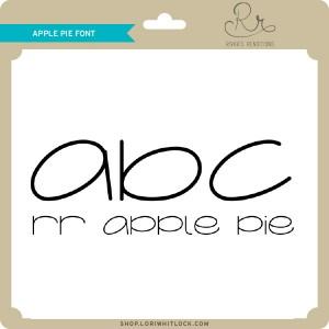 RR-Apple-Pie-Font