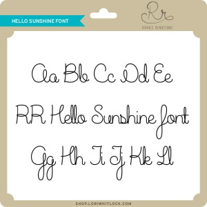 RR-Hello-Sunshine-Font