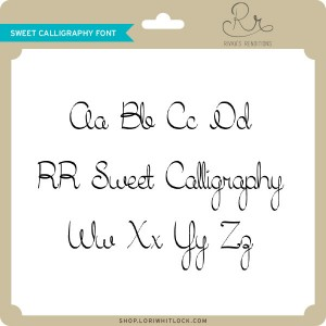 RR-Sweet-Calligraphy-Font