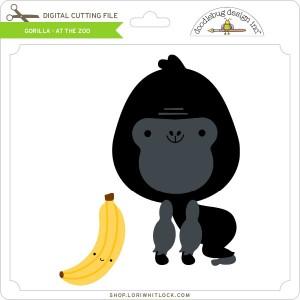 DB-Gorilla-At-the-Zoo