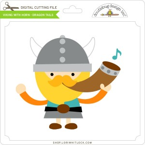 DB-Viking-with-Horn-Dragon-Tails