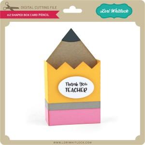 LW-A2-Shaped-Box-Card-Pencil