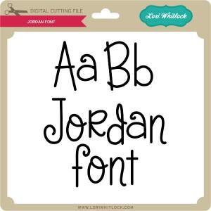 LW-Jordan-Font