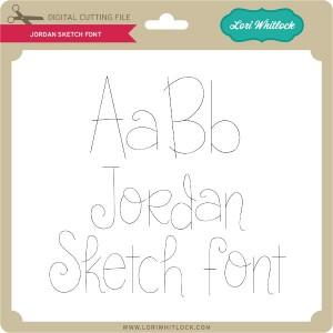 LW-Jordan-Sketch-Font