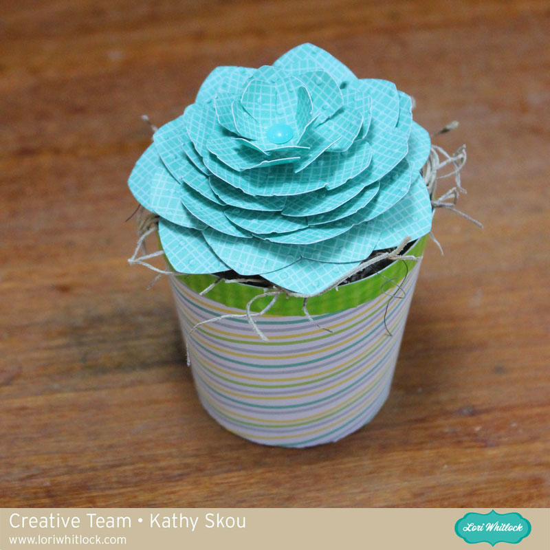 Paper Succulents Tutorial with Kathy