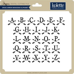 KH-Cross-Arrow-Monogram-Alphabet