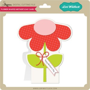 LW-Flower-Shaped-Mother's-Day-Card