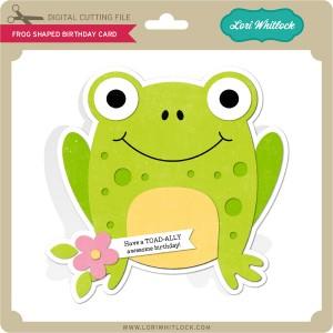 LW-Frog-Shaped-Birthday-Card