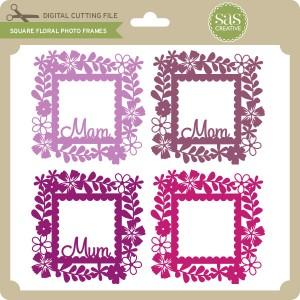 SAS-Square-Floral-Photo-Frames