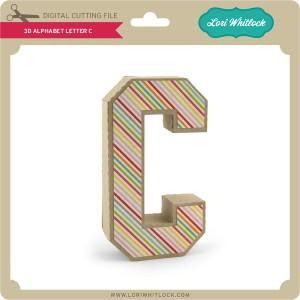 LW-3D-Alphabet-Letter-C