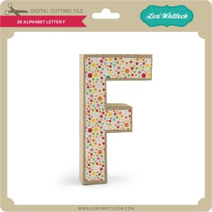 LW-3D-Alphabet-Letter-F