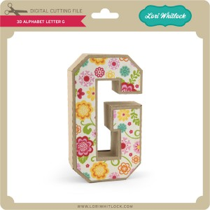 LW-3D-Alphabet-Letter-G