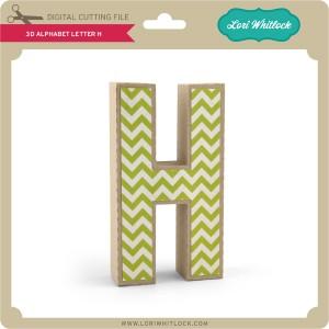 LW-3D-Alphabet-Letter-H