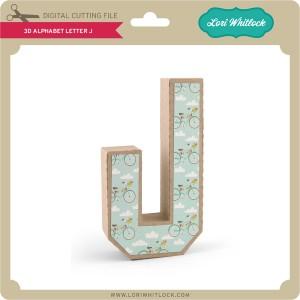 LW-3D-Alphabet-Letter-J
