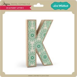 LW-3D-Alphabet-Letter-K