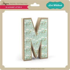 LW-3D-Alphabet-Letter-M