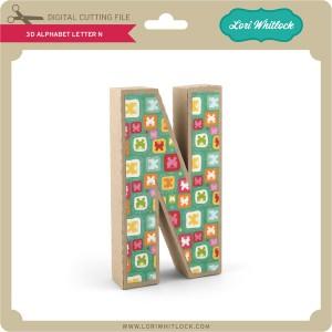 LW-3D-Alphabet-Letter-N