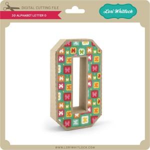 LW-3D-Alphabet-Letter-O