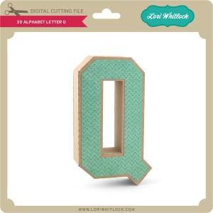 LW-3D-Alphabet-Letter-Q