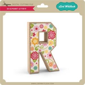 LW-3D-Alphabet-Letter-R