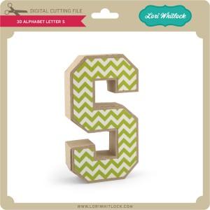 LW-3D-Alphabet-Letter-S
