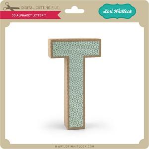 LW-3D-Alphabet-Letter-T