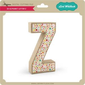 LW-3D-Alphabet-Letter-Z