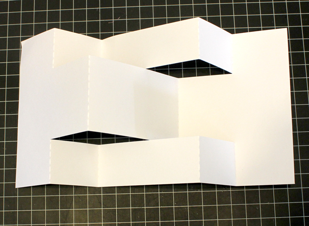 Start By Folding The Base Piece This Takes A Little Thought But Is Not Difficult Here Are Couple Of Views Once Folded