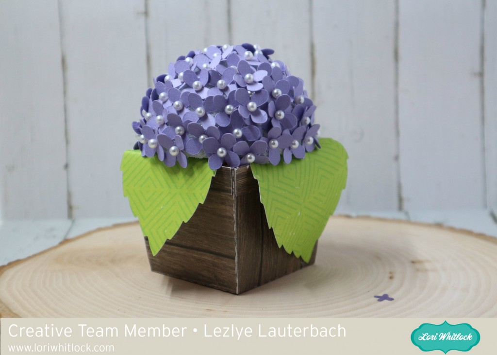 Hydrangea In A Pot By Lezlye » Lori Whitlock