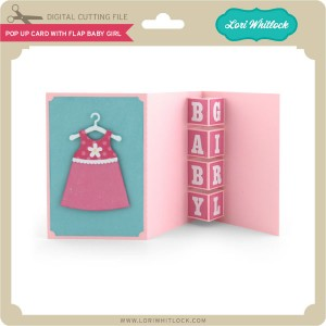 LW-Pop-Up-Card-with-Flap-Baby-Girl
