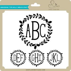 RR-Monogram-Type-Holly-Wreath-Font