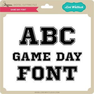LW-Game-Day-Font