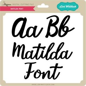 LW-Matilda-Font