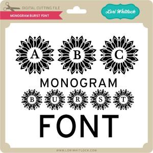 LW-Monogram-Burst-Font