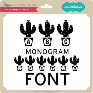 LW-Monogram-Cactus-Font