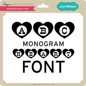 LW-Monogram-Heart-Font