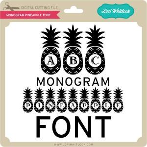LW-Monogram-Pineapple-Font