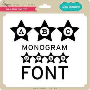 LW-Monogram-Star-Font