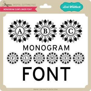 LW-Monogram-Sunflower-Font
