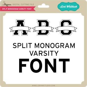 LW-Split-Monogram-Varsity-Font