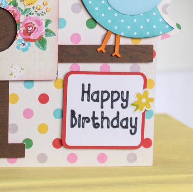 Bird House Birthday Card with Bran » Lori Whitlock on