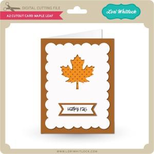 LW-A2-Cutout-Card-Maple-Leaf