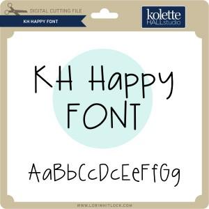 KH-Happy-Font