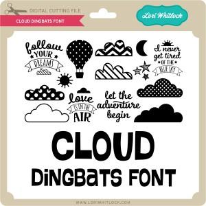 LW-Cloud-Dingbats-Font