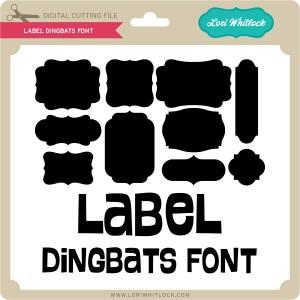 LW-Label-Dingbats-Font