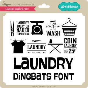 LW-Laundry-Dingbats-Font