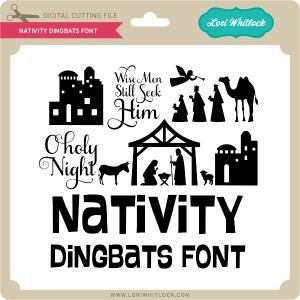 LW-Nativity-Dingbats-Font