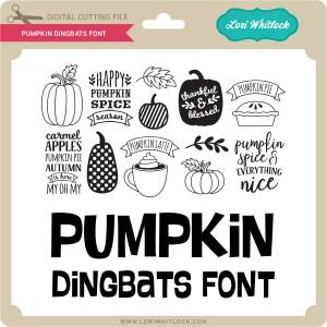 LW-Pumpkin-Dingbats-Font