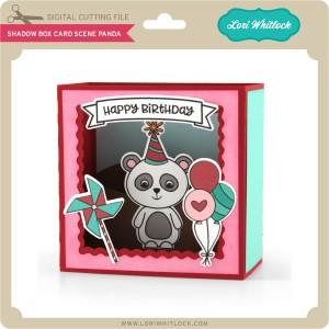 LW-Shadow-Box-Card-Scene-Panda